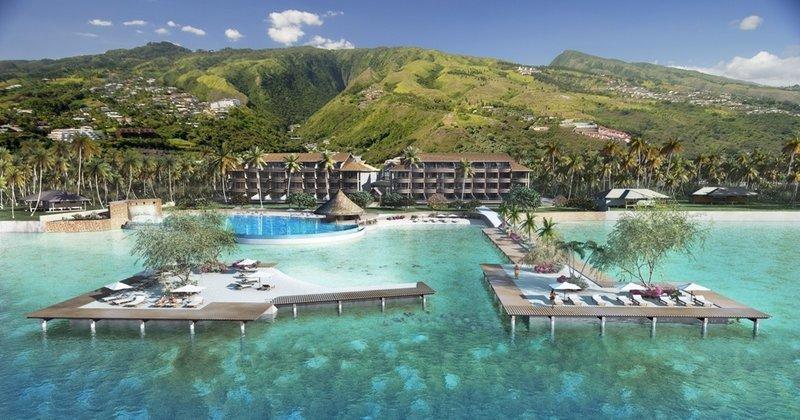 Manava Suite Resort Tahiti - Manava Vue Generale Motu <br/>Image from Leonardo