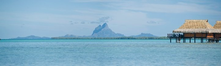 Vahine Island-View of Bora Bora from Vahine Island<br/>Image from Leonardo