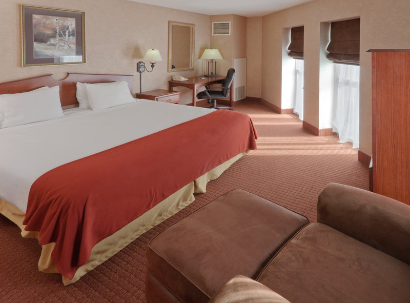 Holiday Inn Express & Suites Deadwood - Gold Dust Casino-King Bed Guest Room<br/>Image from Leonardo