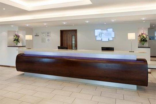 Holiday Inn Express Burnley M65, Jct.10-Reception<br/>Image from Leonardo