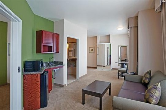 Holiday Inn Express Hotel & Suites North Sequim-Living room of the 2-room Suite<br/>Image from Leonardo
