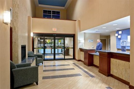 Holiday Inn Express Hotel & Suites North Sequim-Hotel Lobby<br/>Image from Leonardo