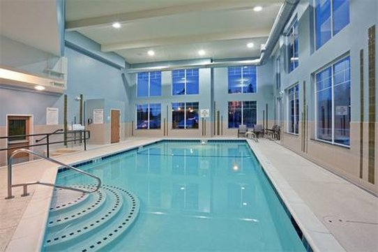 Holiday Inn Express Hotel & Suites North Sequim-Large indoor Swimming Pool<br/>Image from Leonardo
