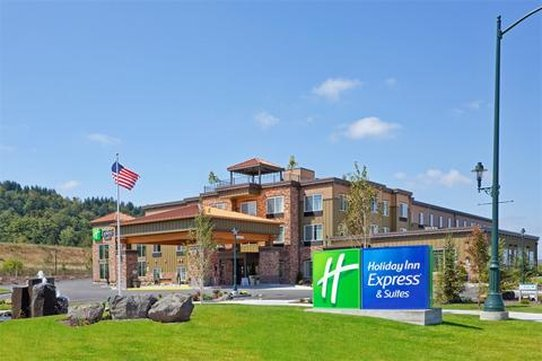 Holiday Inn Express Hotel & Suites North Sequim-Hotel Exterior<br/>Image from Leonardo