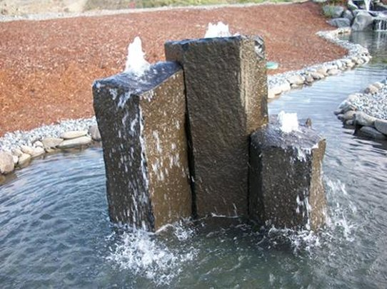 Holiday Inn Express Hotel & Suites North Sequim-Another water feature at the Sequim hotel<br/>Image from Leonardo