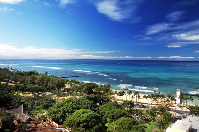 Queen Kapiolani Hotel - Queen Kapiolani Waikiki Beach View Jpg <br/>Image from Leonardo