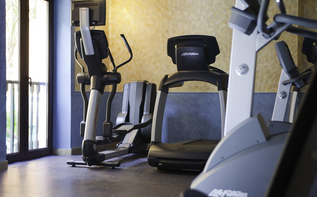 Hotel El Convento - Fitness Center <br/>Image from Leonardo