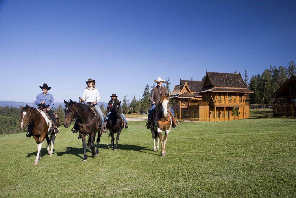 Echo Valley Ranch & Spa-Horseback Riding<br/>Image from Leonardo