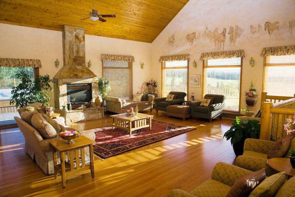 Echo Valley Ranch & Spa-Cariboo Spa Lounge<br/>Image from Leonardo