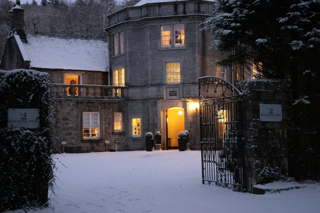 Barcaldine Castle-Our First Snow Fall<br/>Image from Leonardo