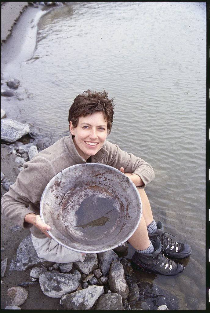 Echo Valley Ranch & Spa-Gold Panning on the Fraser River<br/>Image from Leonardo