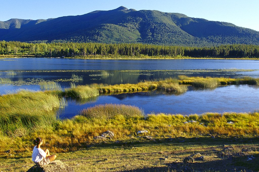 Echo Valley Ranch & Spa-Lady Looking At Marsh Lake<br/>Image from Leonardo