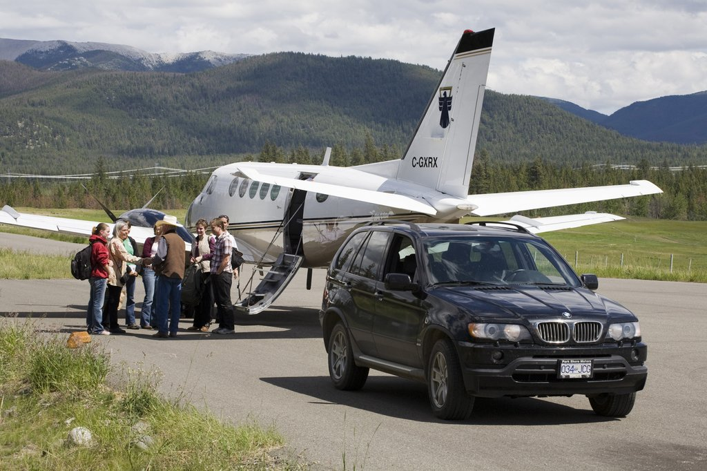 Echo Valley Ranch & Spa-Echo Valley Private Airstrip<br/>Image from Leonardo