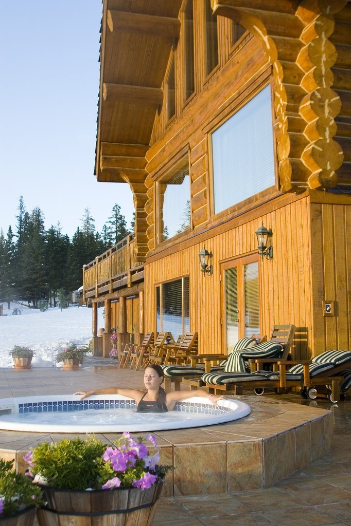 Echo Valley Ranch & Spa-Outdoor Hot Tub<br/>Image from Leonardo
