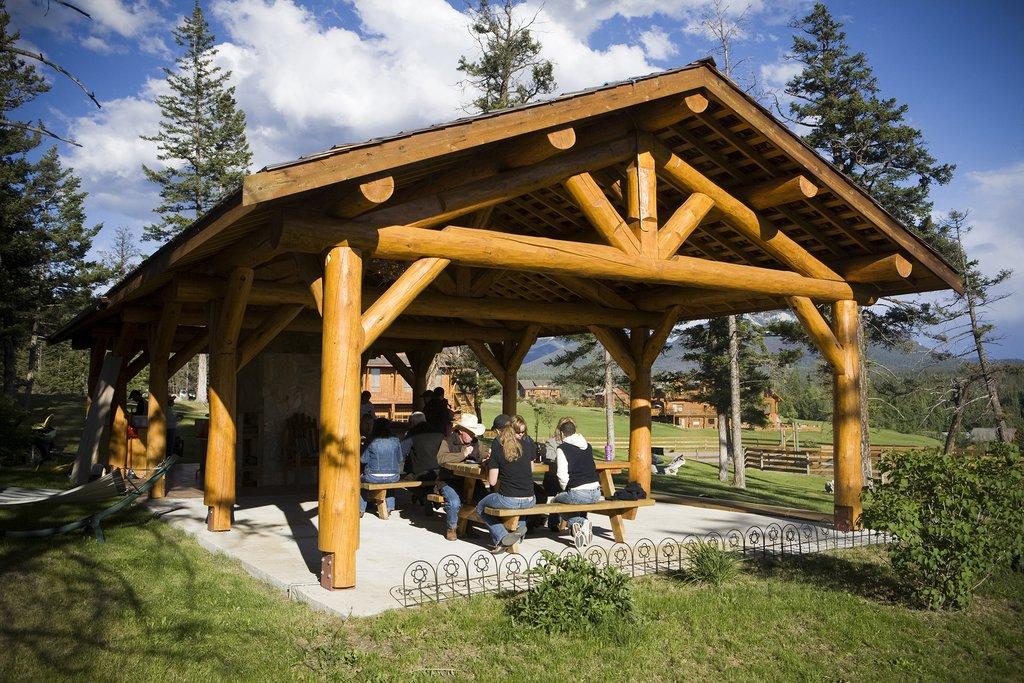 Echo Valley Ranch & Spa-Echo Valley - OUtdoor BBQ Area<br/>Image from Leonardo