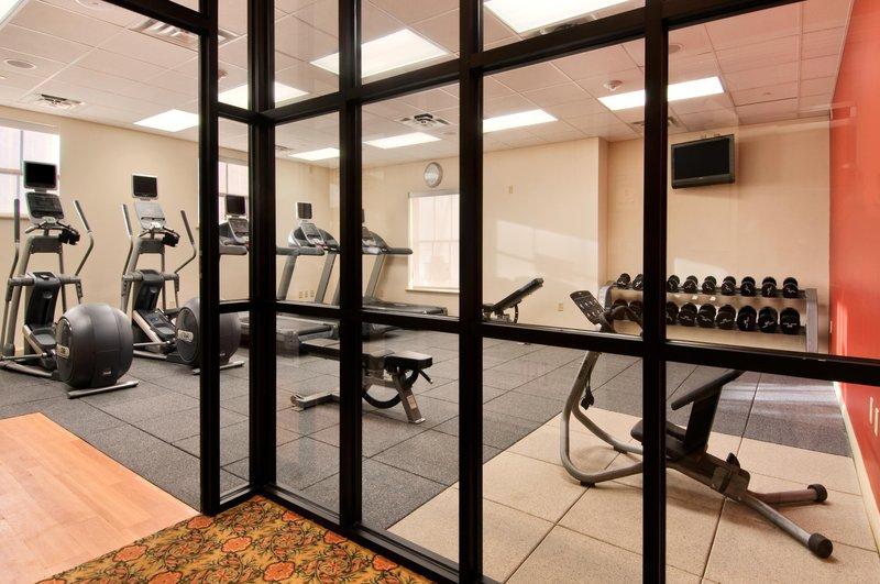 Hilton Baton Rouge Capitol Center-Precor Fitness Center<br/>Image from Leonardo