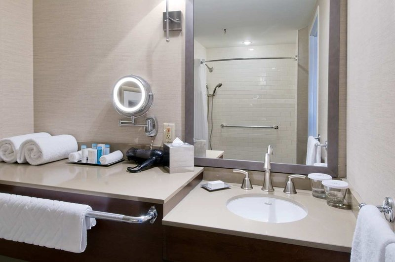 Hilton Saint John-Accessible Bathroom<br/>Image from Leonardo