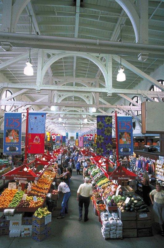 Hilton Saint John Trade &amp; Convention Centre-Old City Market<br/>Image from Leonardo