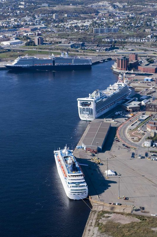 Hilton Saint John Trade &amp; Convention Centre-Harbour Front View<br/>Image from Leonardo