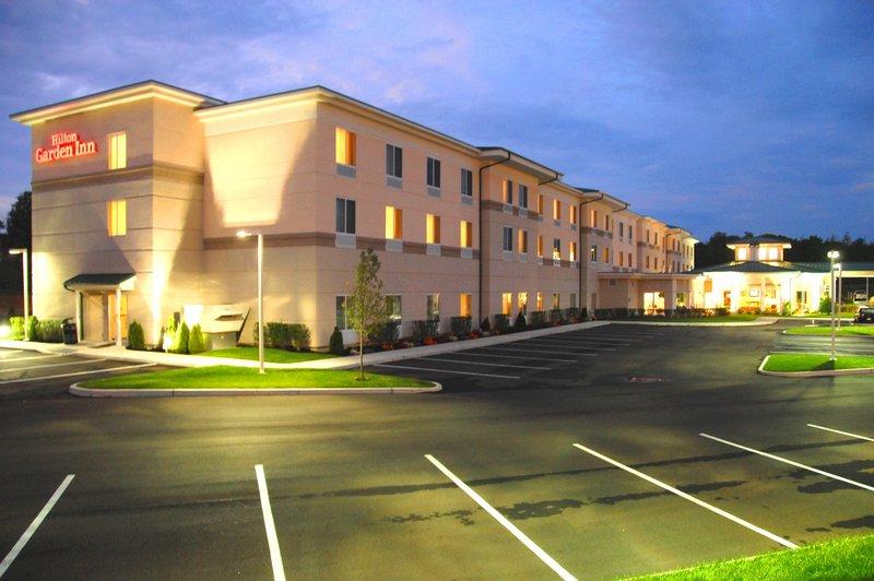 Hilton Garden Inn Riverhead-Hotel Exterior Night<br/>Image from Leonardo