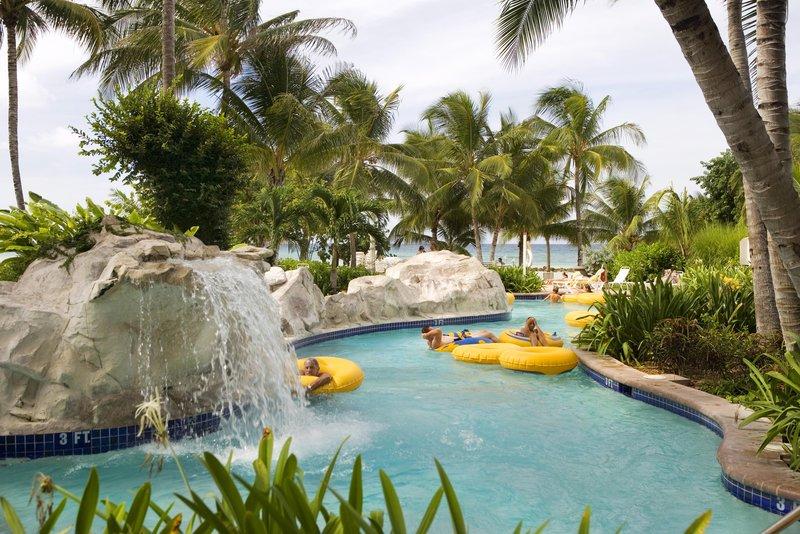 Hilton Rose Hall Resort & Spa  - Sugar Mill Falls Water Park  <br/>Image from Leonardo