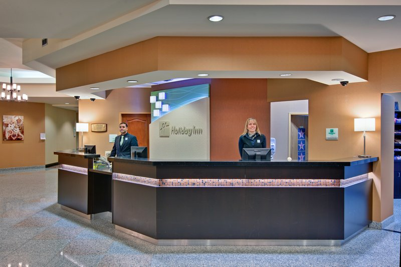 Holiday Inn Hotel & Suites Windsor (Ambassador Bridge)-Front Desk<br/>Image from Leonardo