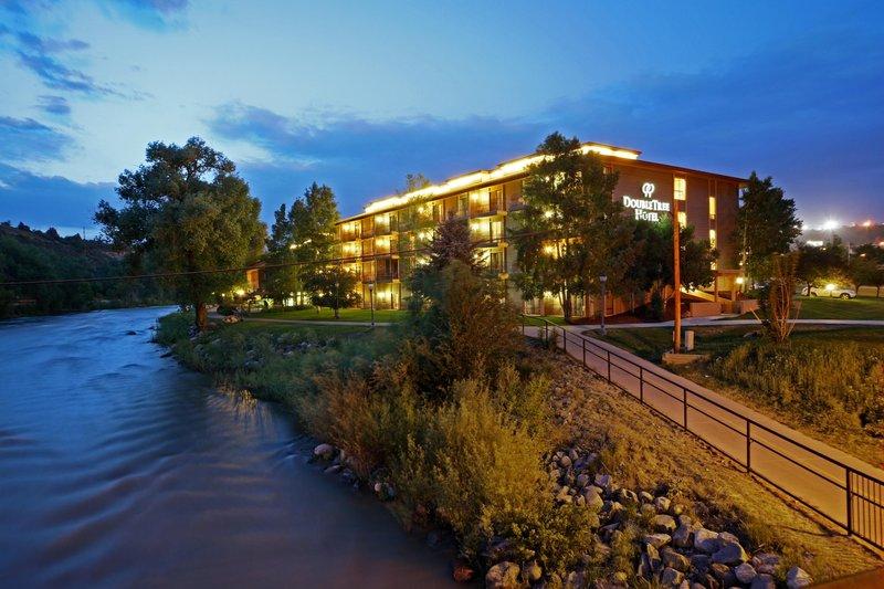 DoubleTree by Hilton Durango-Hotel Exterior at Night<br/>Image from Leonardo