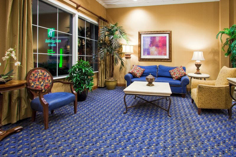 Holiday Inn Daytona Beach On The Ocean-Hotel Lobby is a place for Comfort - place to gather with friends.<br/>Image from Leonardo