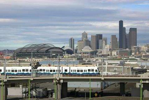 DoubleTree by Hilton Hotel Seattle Airport-Seattle Light Rail<br/>Image from Leonardo