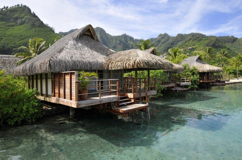 Intercontinental Moorea Resort-Overwater bungalow<br/>Image from Leonardo