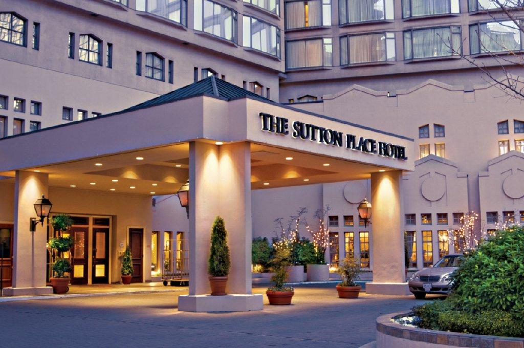Sutton Place Hotel Vancouver - Sutton Place Exterior <br/>Image from Leonardo