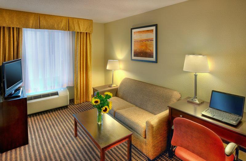 Holiday Inn Express Charleston US Hwy 17 & I-526-King Suite Sitting Area<br/>Image from Leonardo