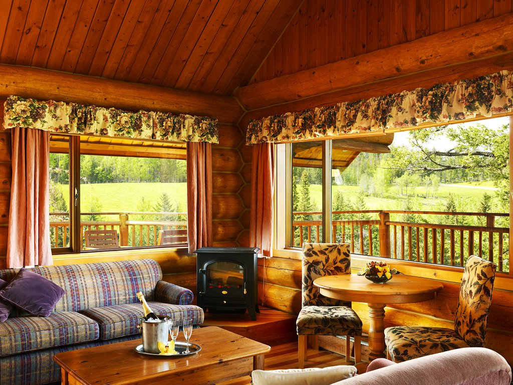 Echo Valley Ranch & Spa-Honeymoon Cabin<br/>Image from Leonardo