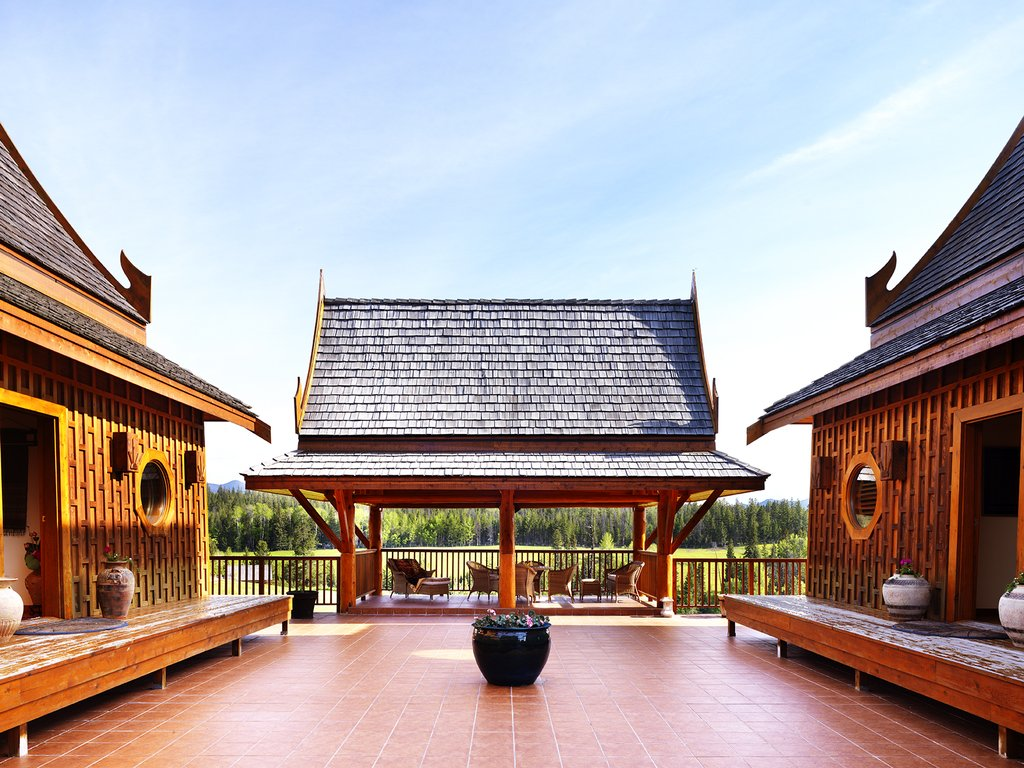 Echo Valley Ranch & Spa-Baan Thai Pavillion<br/>Image from Leonardo