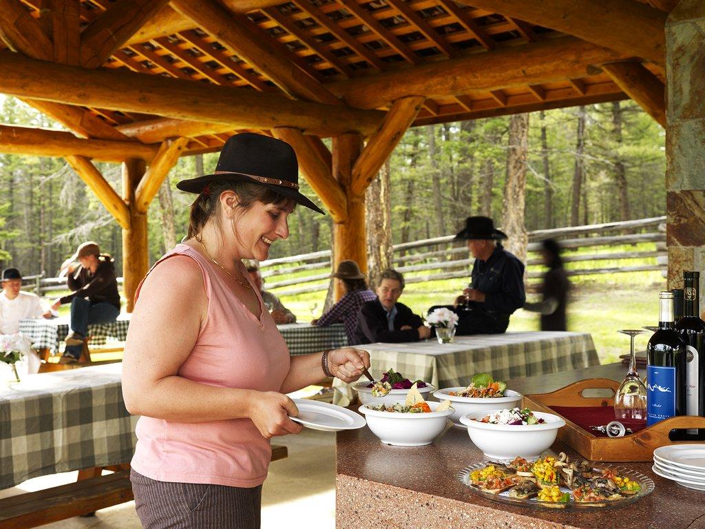 Echo Valley Ranch & Spa-Outdoor Dining<br/>Image from Leonardo