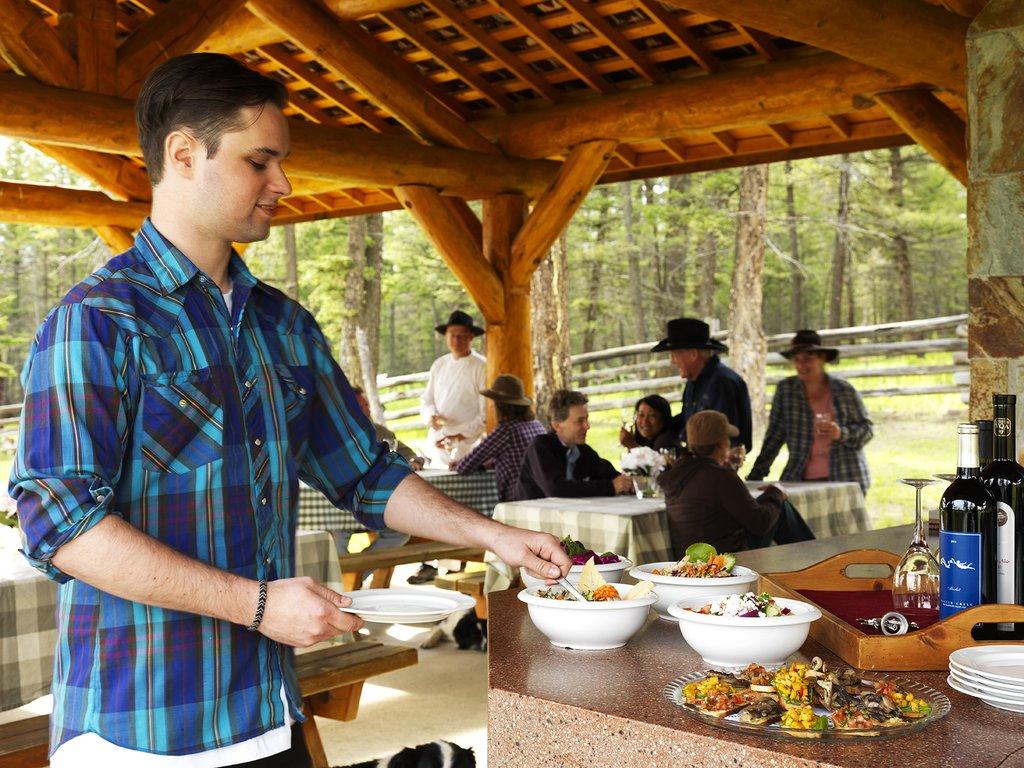 Echo Valley Ranch & Spa-Outdoor BBQ<br/>Image from Leonardo