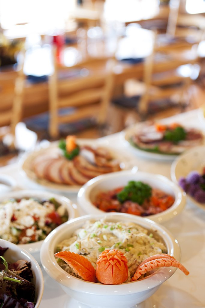 Echo Valley Ranch & Spa-Lunch Buffet<br/>Image from Leonardo