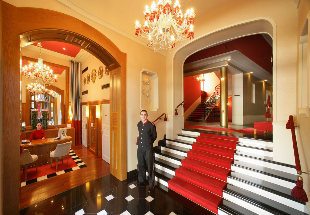Mamaison Hotel Riverside - Lobby/ Reception <br/>Image from Leonardo