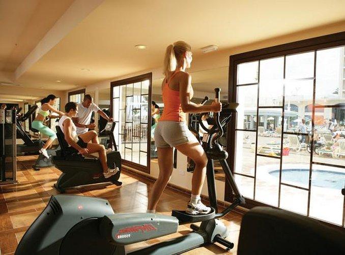 Riu Palace Aruba - Fitness Center <br/>Image from Leonardo