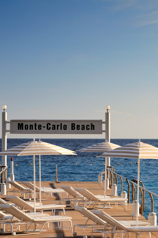 Hermitage Monte Carlo-Private Beach - Monte-Carlo Beach Club<br/>Image from Leonardo
