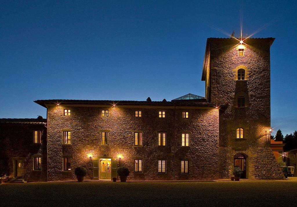 Borgo Scopeto Relais-Exterior By Night<br/>Image from Leonardo