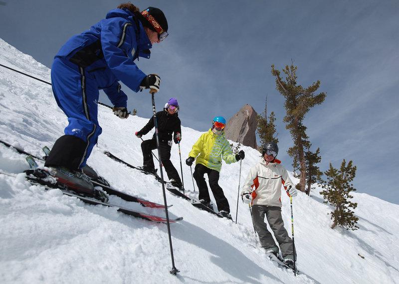 Village Lodge-Mammoth Ski School<br/>Image from Leonardo