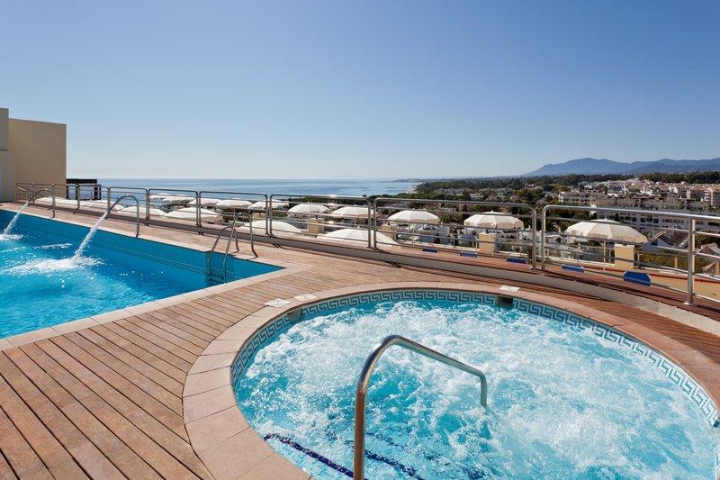 Senator Marbella Spa Hotel-Penthouse Jacuzzi<br/>Image from Leonardo
