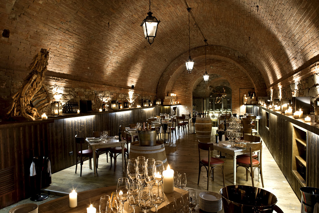 Castel Monastero-Cantina Restaurant<br/>Image from Leonardo