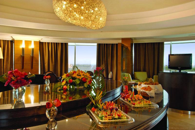 Millennium Doha - Interior Club Lounge <br/>Image from Leonardo