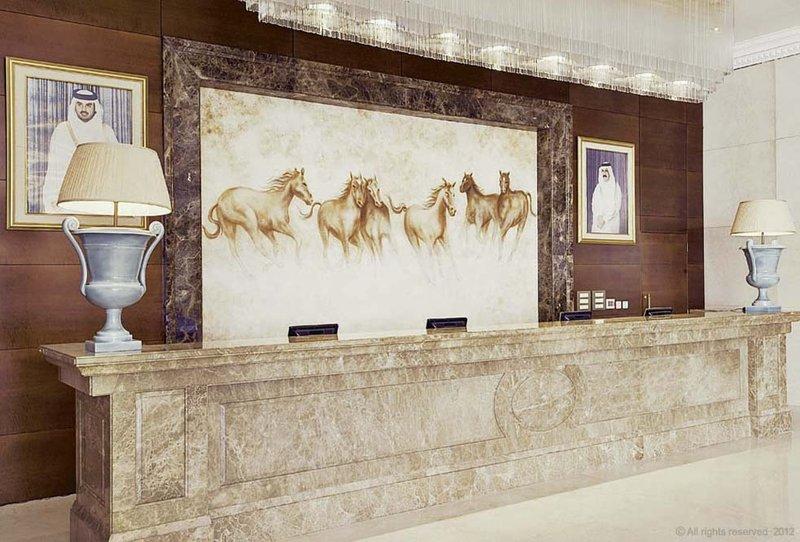 Millennium Doha - Reception Counter <br/>Image from Leonardo
