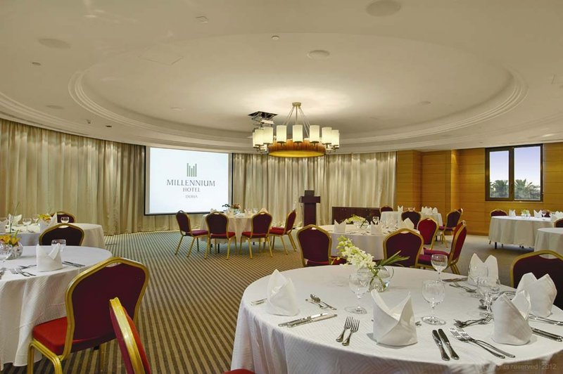Millennium Doha - Meeting Room Al Huwaila <br/>Image from Leonardo