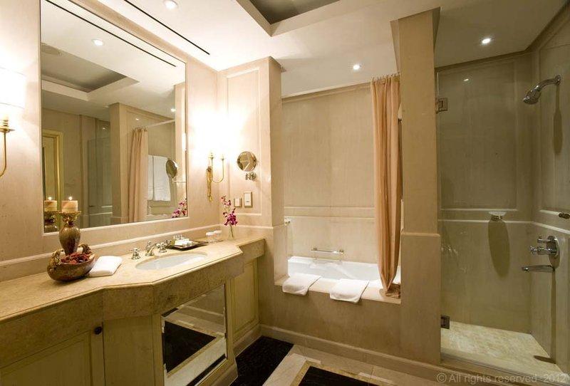Millennium Doha - Presidential Suite Bathroom <br/>Image from Leonardo