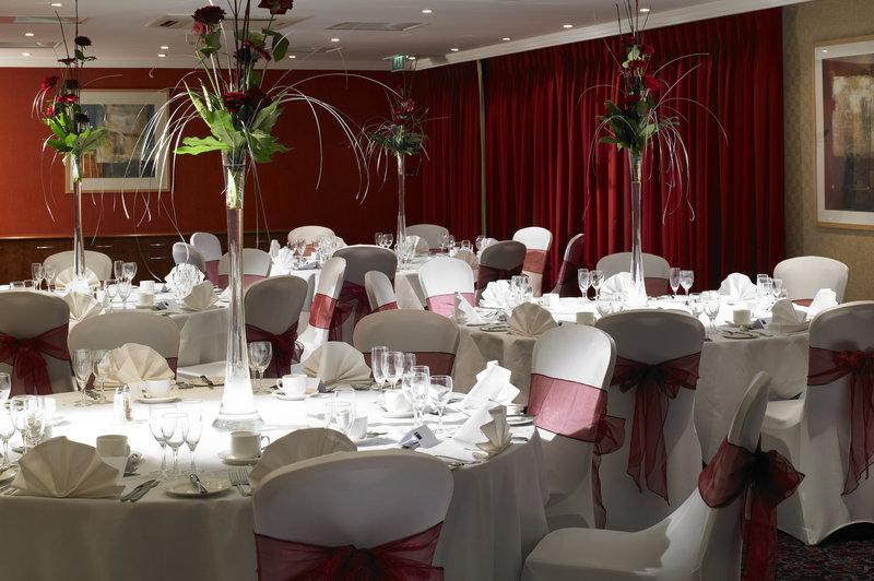 Jurys Inn Oxford-Oxford Wedding Set Up Keble Suite<br/>Image from Leonardo