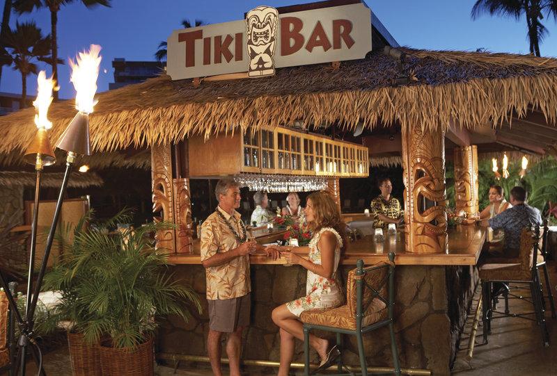 Kaanapali Beach Hotel  - Tiki Bar <br/>Image from Leonardo